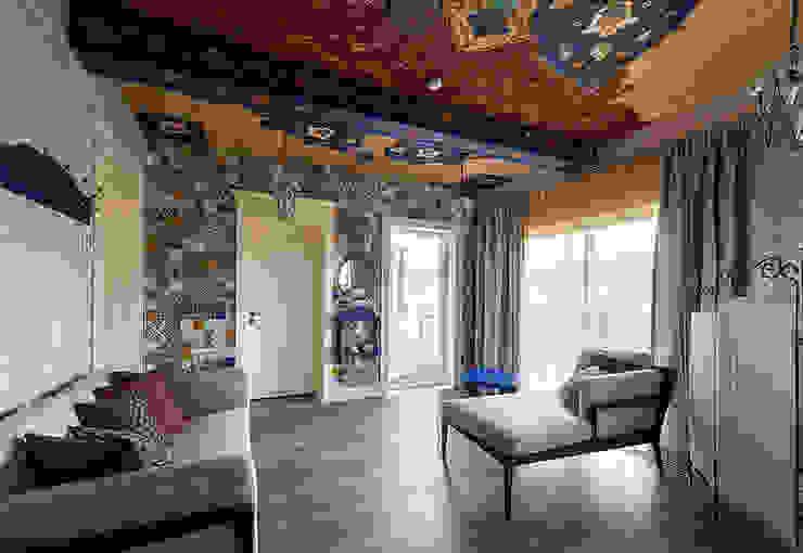 Комната отдыха. Роспись. Декоративная стена от Эдуард Григорьев (daproekt) Азиатский Плитка