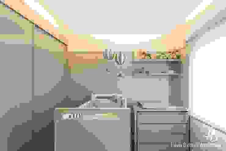 Dormitorios infantiles de estilo moderno de Flávia Bastiani Arquitetura Moderno Tablero DM