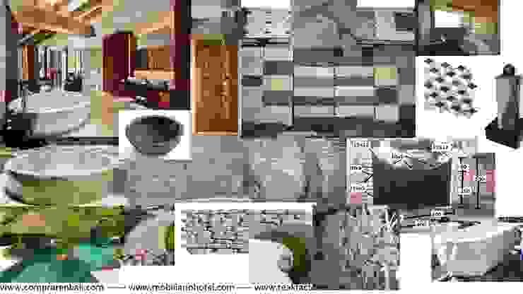 Materiales de construcción sostenible Paredes y suelos de estilo ecléctico de comprar en bali Ecléctico Mármol