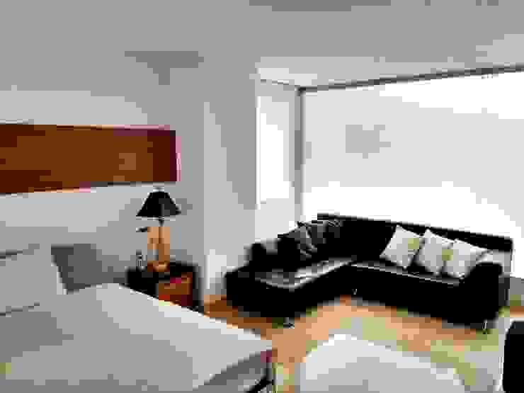 Vivienda unifamiliar-privada Habitaciones modernas de Le.tengo Arquitectos Moderno