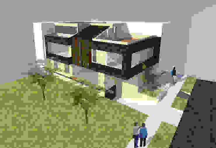 Vivienda unifamiliar-privada de Le.tengo Arquitectos Moderno
