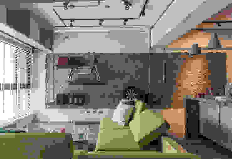 竹東 PC House 丰墨設計 | Formo design studio 客廳