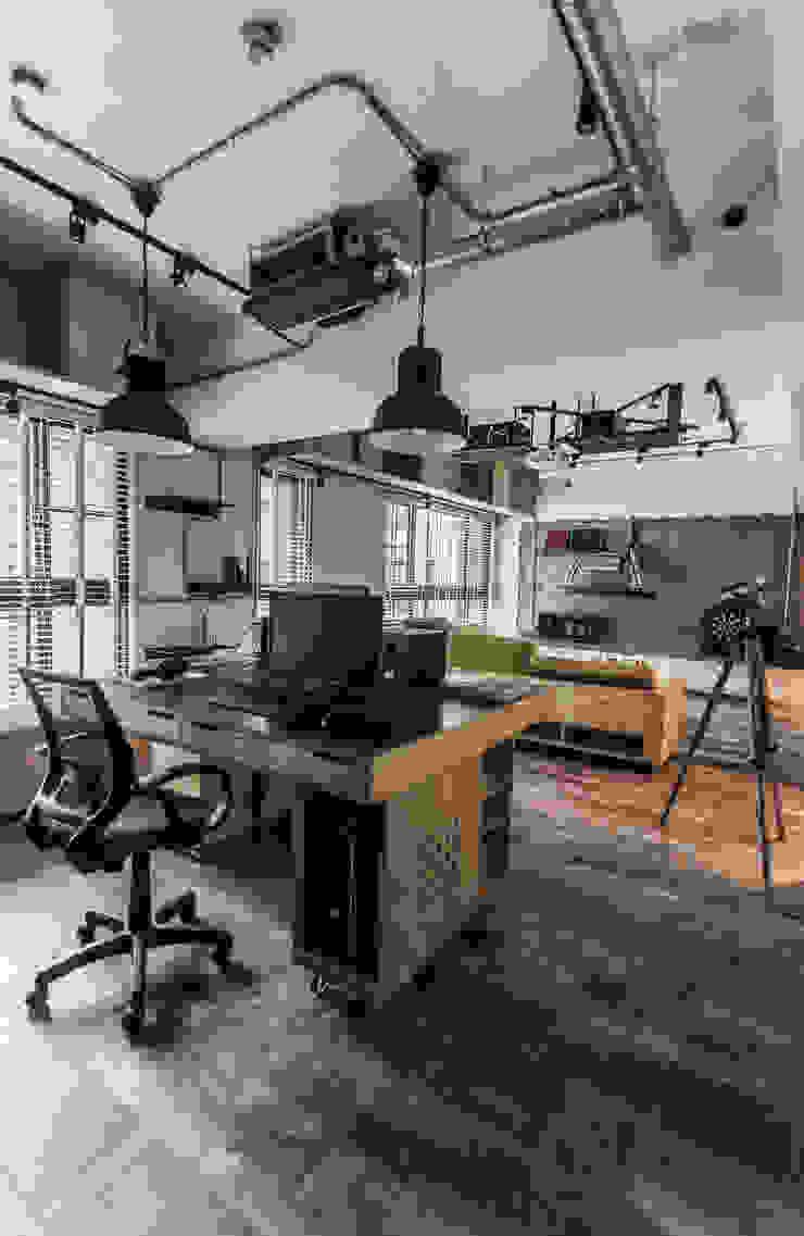竹東 PC House 丰墨設計 | Formo design studio 書房/辦公室