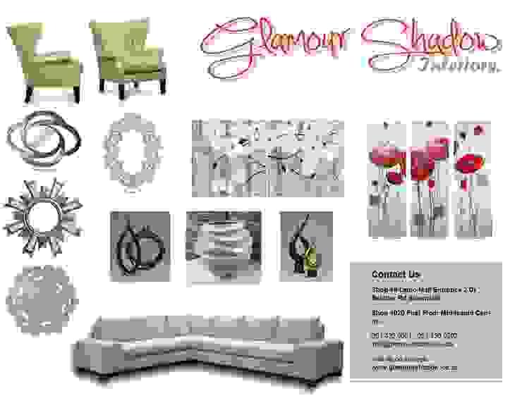 Decor Ornaments: minimalist  by Glamour Shadow Interiors (Pty) Ltd, Minimalist