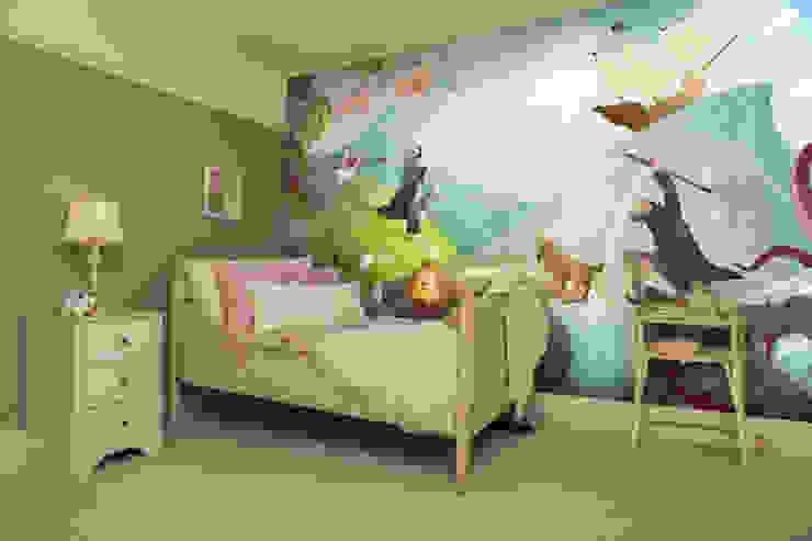Waves of Imagination Wall Mural Chambre d'enfant moderne par Wallsauce.com Moderne