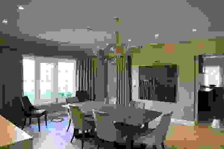 Aykuthall Architectural Interiors – OHY Evi Sunflower Sitesi:  tarz Yemek Odası