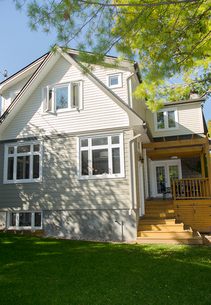 Lindenlea Addition + Renovations Classic style houses by Jane Thompson Architect Classic Wood Wood effect