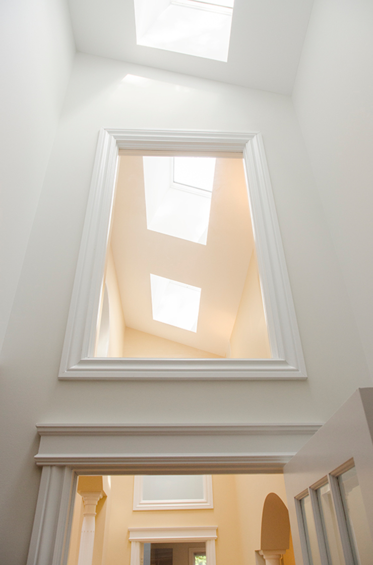 Rockcliffe Renovations Colonial style window and door by Jane Thompson Architect Colonial Wood Wood effect