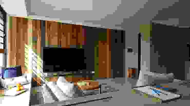 自在生活 根據 木皆空間設計 鄉村風