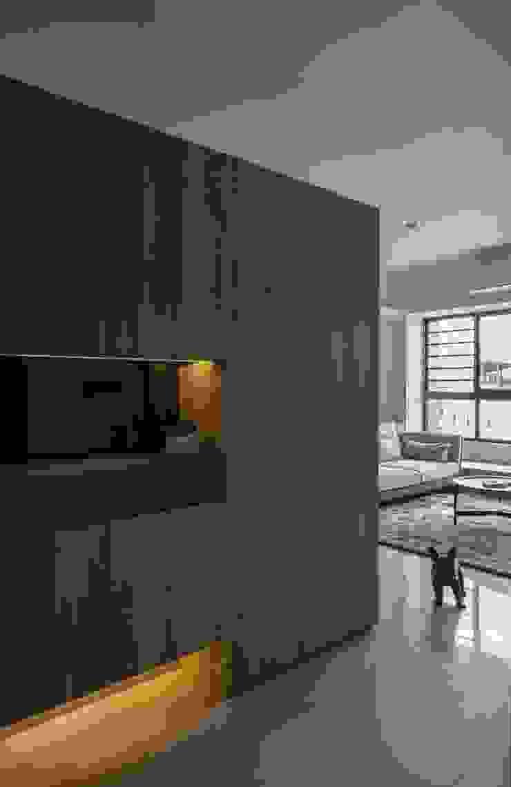 自在生活 乡村风格的走廊,走廊和楼梯 根據 木皆空間設計 鄉村風