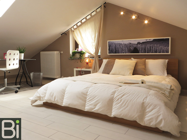 Bedroom by PROGETTO Bi