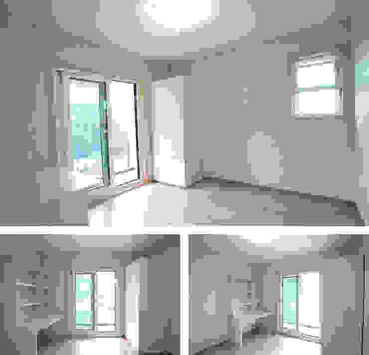 Dormitorios clásicos de 지성하우징 Clásico