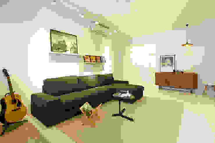 Industriële woonkamers van 双設計建築室內總研所 Industrieel