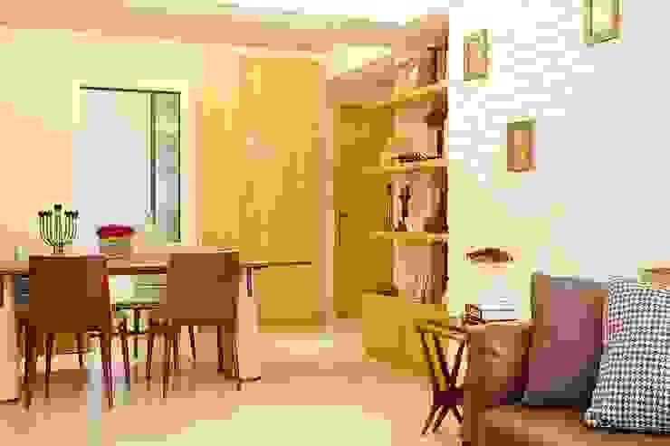 Scandinavian style living room by 双設計建築室內總研所 Scandinavian