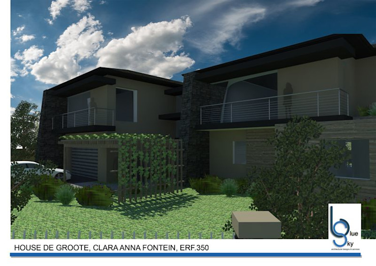 HOUSE DE GROOTE - Clara Anna Fontein, Durbanville by BLUE SKY Architecture