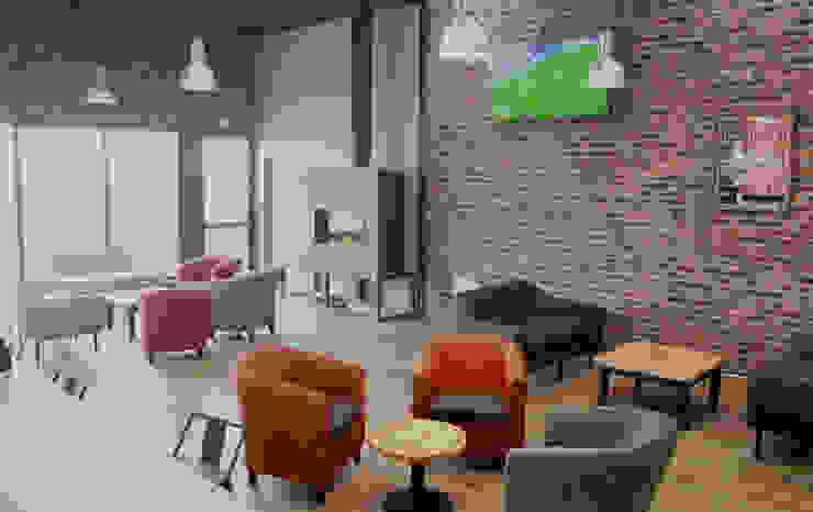 Le Bar du Soccer Rennais – Rennes - 2016 Contraste Intérieur Bars & clubs modernes