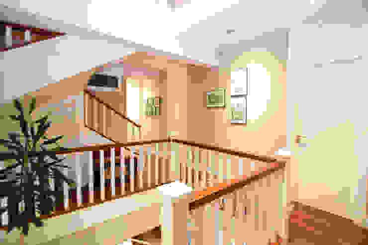 Comunicación vertical NAM ARQUITECTOS SLP Pasillos, vestíbulos y escaleras de estilo rústico
