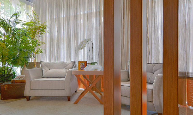 Sgabello Interiores Modern corridor, hallway & stairs MDF Wood effect