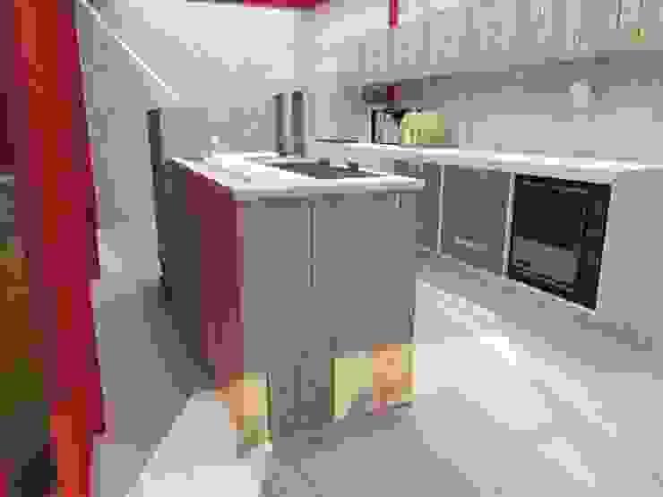 Estudio de Diseño Interior 廚房儲櫃 木頭 Wood effect