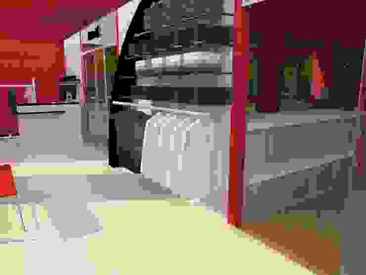 Estudio de Diseño Interior Office spaces & stores Wood effect