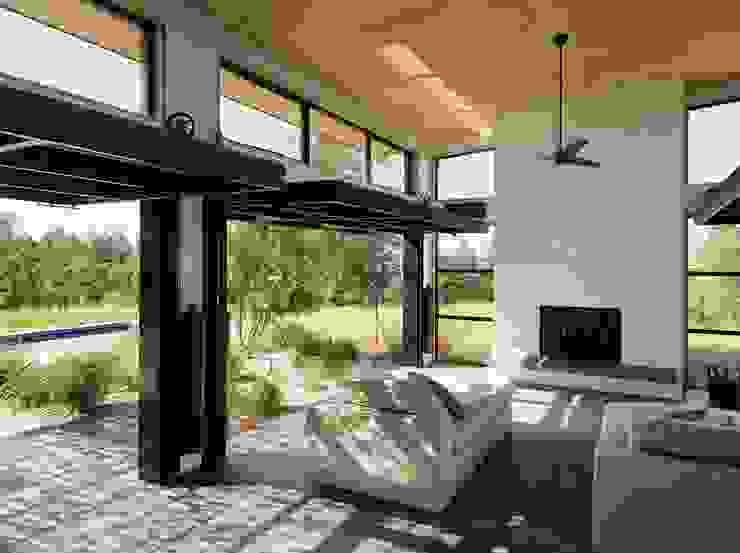 Livings de estilo moderno de Feldman Architecture Moderno