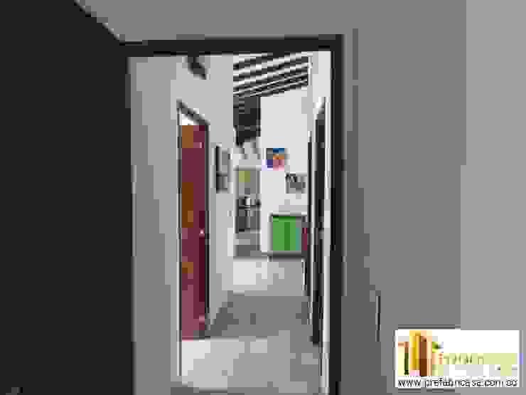 Koridor & Tangga Modern Oleh PREFABRICASA Modern