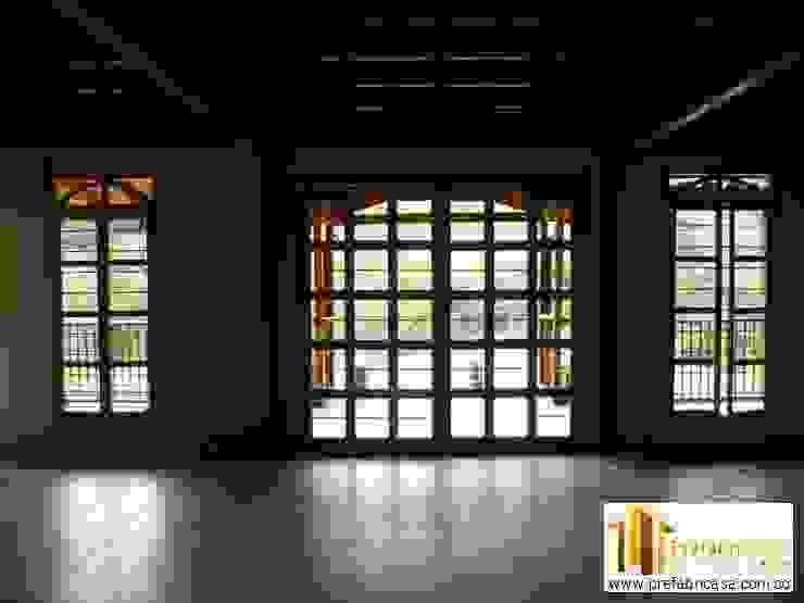 Casa pre fabricada en bogotá 2: Ventanas de estilo  por PREFABRICASA , Moderno