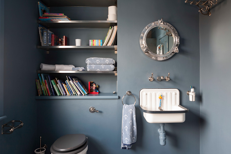 Bathroom by homify, Eclectic