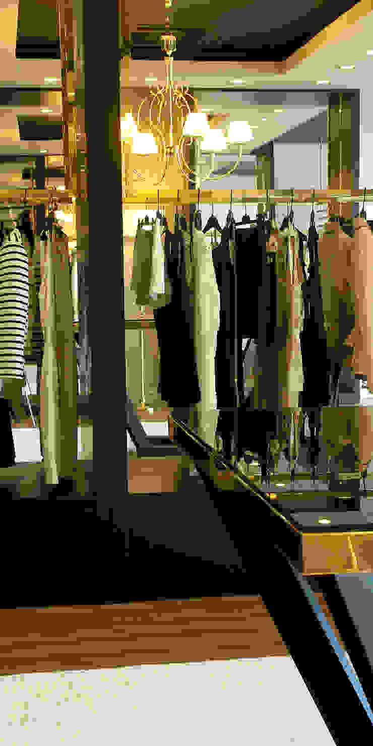 Loja de vestuário Beauty & Classy por Área77 - arquitectura, engenharia e design, lda Eclético