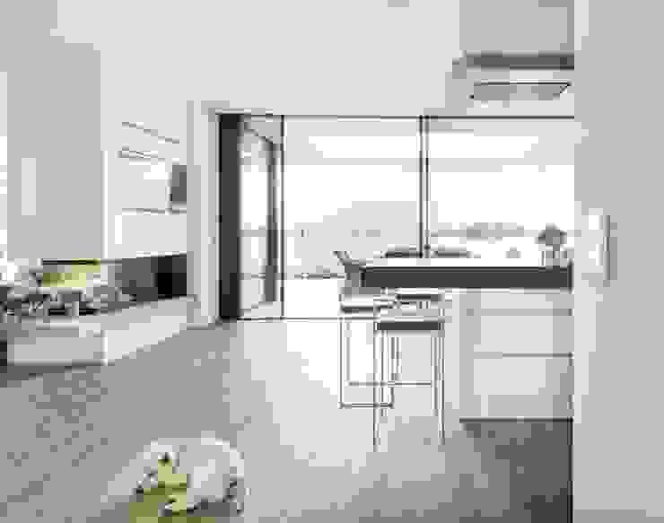 Haus am See 1 Moderne Küchen von Burckhardt Metall Glas GmbH Modern