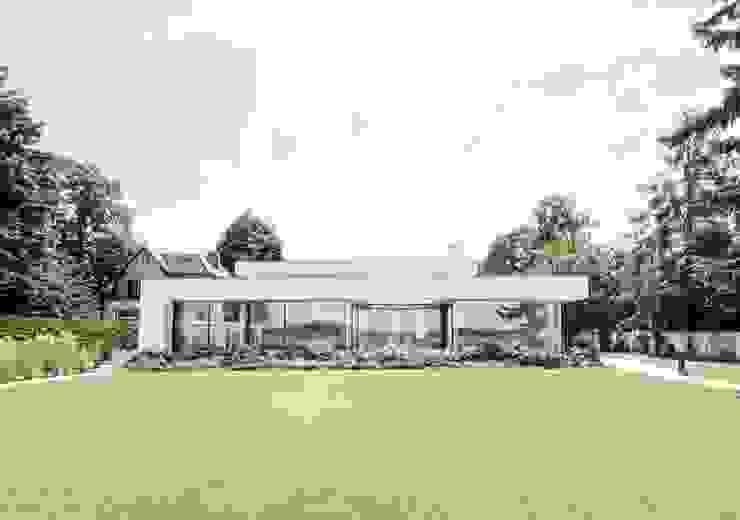 Haus am See 1 Moderner Garten von Burckhardt Metall Glas GmbH Modern