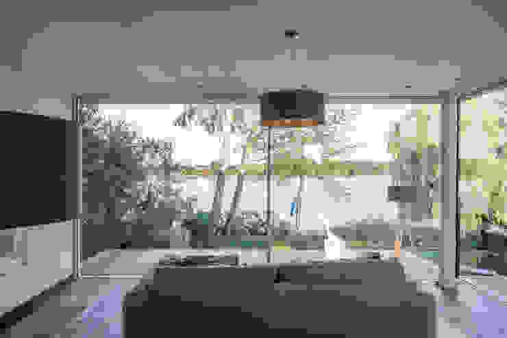 Haus am See 2 Moderne Wohnzimmer von Burckhardt Metall Glas GmbH Modern