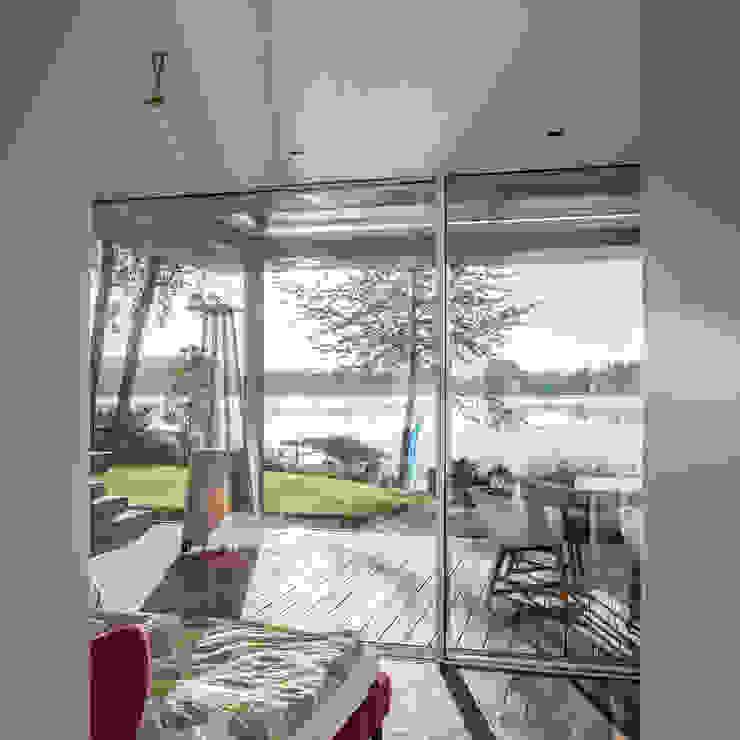 Haus am See 2 Moderne Schlafzimmer von Burckhardt Metall Glas GmbH Modern