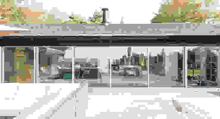 Haus am See 3 Moderne Häuser von Burckhardt Metall Glas GmbH Modern