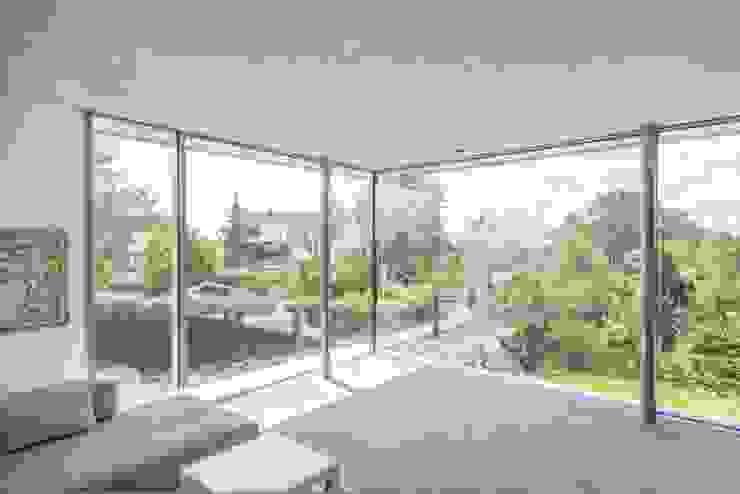 EFH Bauten Moderne Wohnzimmer von Burckhardt Metall Glas GmbH Modern