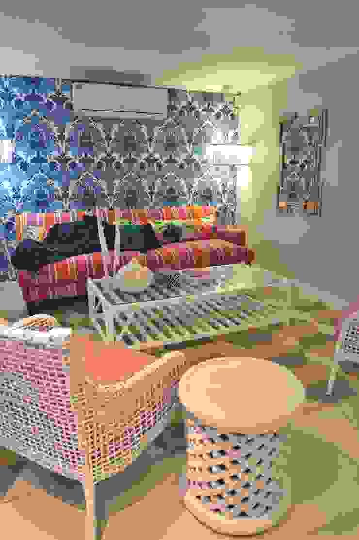 multimedia room : mediterranean  by merdesign1, Mediterranean Wool Orange