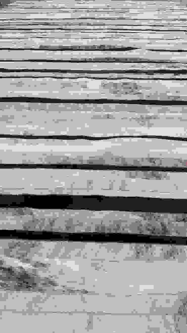 Alfombra patchwork de cuero vacuno diseño Raíz de Cusco Custom Cuero Moderno Cuero Gris