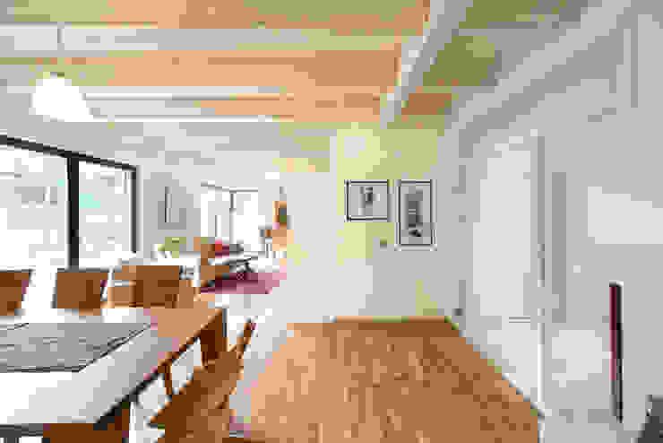 Familienhaus #3 HunoldHaus Moderne Wohnzimmer