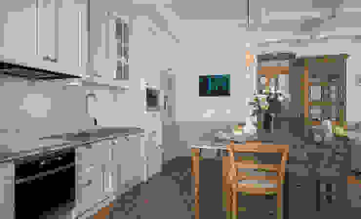 Rustic style kitchen by Бюро9 - Екатерина Ялалтынова Rustic