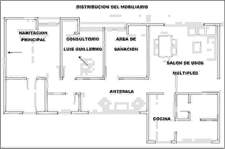 Asesoría Feng Shui Apartamento Cucuta Colombia Cuartos de estilo moderno de Arquitectura Feng Shui Laura Ramirez Moderno