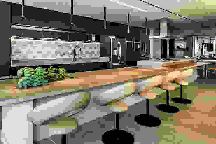Espaço Gourmet Cozinhas modernas por Carpaneda & Nasr Moderno