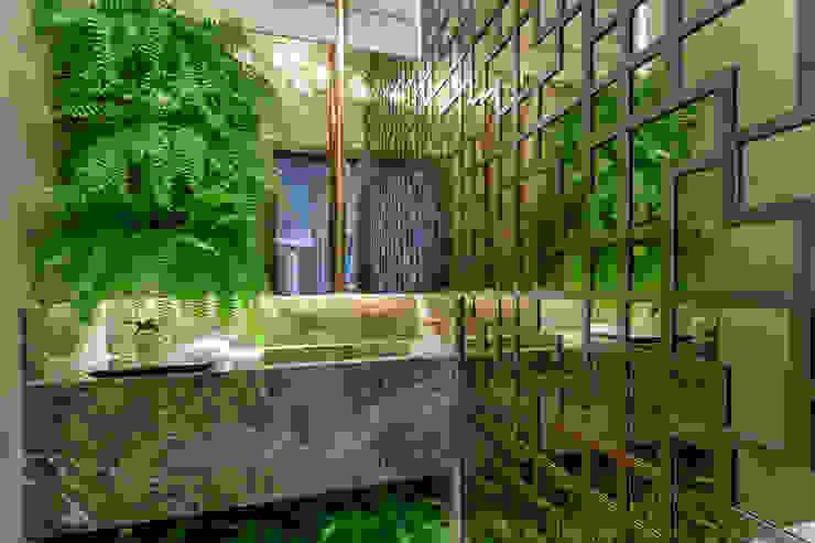 Lavabo Morar Mais 2016 Banheiros clássicos por Jacqueline Ortega Design de Ambientes Clássico