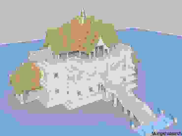 วัดบางรักใหญ่ โดย Mongkhala Architect Co.,Ltd.