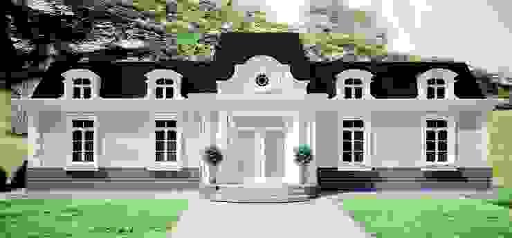 """Дом в стиле """" Шато"""": Дома в . Автор – APRIL DESIGN,"""