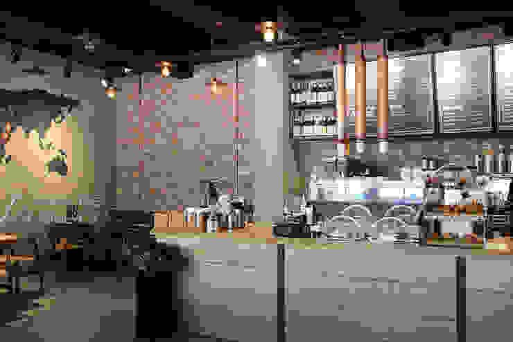 Espresso Lab – Kahve Mağazaları Rustik Duvar & Zemin Doğaltaş Atölyesi Rustik Tuğla