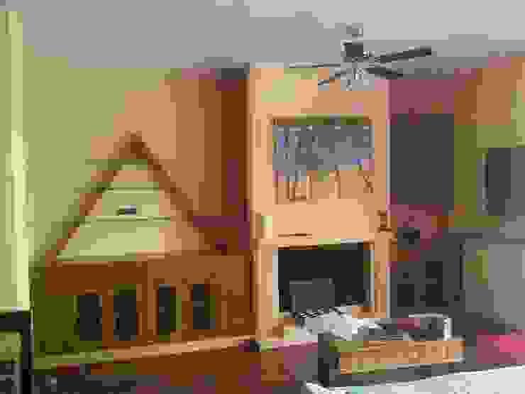 Aparador de Estudio de Diseño Interior Moderno Madera Acabado en madera