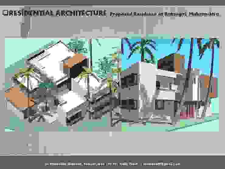 Residential Bugalow at Ratnagiri, Maharashtra. Modern houses by SILVERFERNS DESIGN INNOVATION Modern