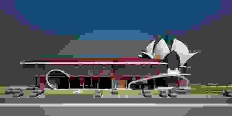 Wayside Inn for GTDC, Pernem, Goa. Modern houses by SILVERFERNS DESIGN INNOVATION Modern