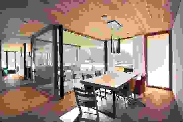 BESTO ZT GMBH_ Architekt DI Bernhard Stoehr Comedores de estilo moderno
