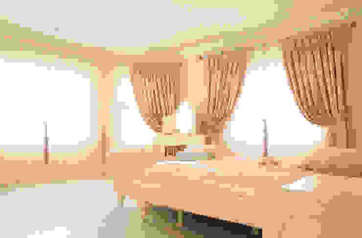 غرفة نوم تنفيذ Aykuthall Architectural Interiors